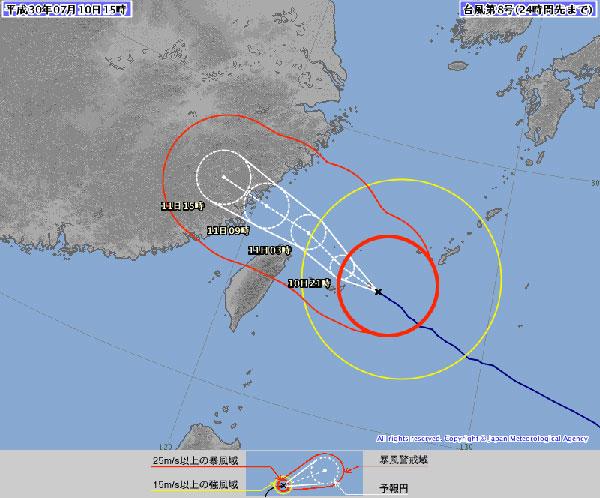 台風マリア