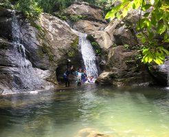 マヤロックの滝