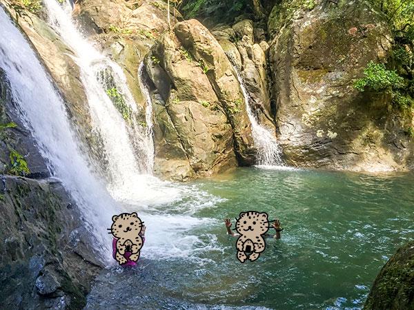 半日トレッキング-裏メニューの滝