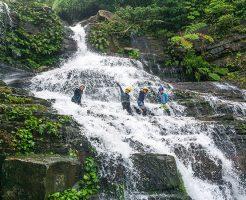 増水ゲーダの滝