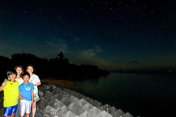 マルマビーチの星空