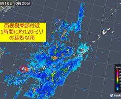 レーダー大雨警報